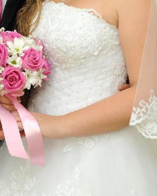 dc7511c7ade3421 Белое свадебное платье. р 44-46, купить в Хасавюрте – объявления о ...