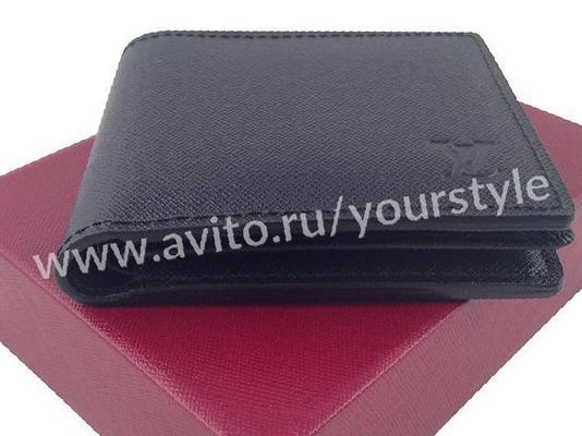 9728fc99e6f0 Мужской кожаный кошелек Louis Vuitton арт. 0208-1, купить в Дубровке ...