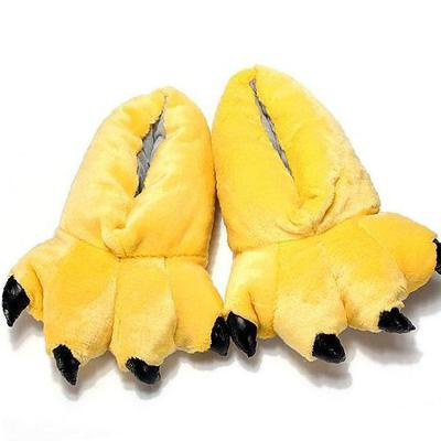 Желтые тапки-лапки для кигуруми в Брянске fc89119a811b5