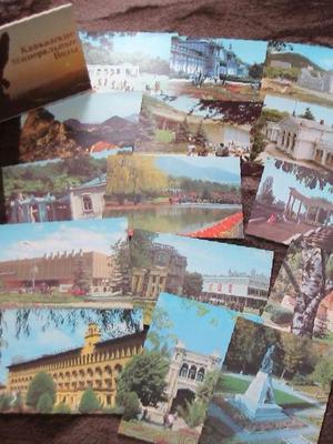 набор открыток города европы