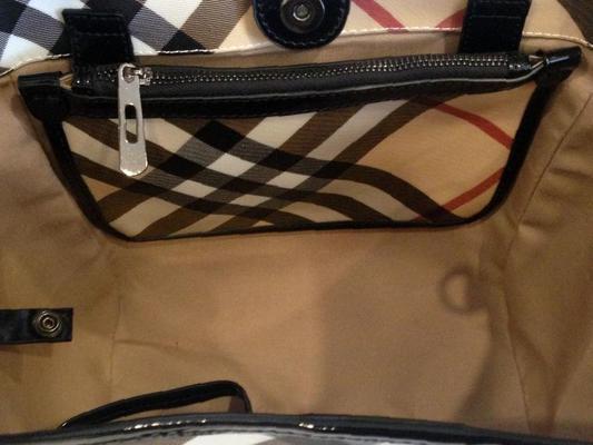 7bcd06240d38 Красивая сумка Burberry большая, купить в Брянске, цена 5530 рублей ...