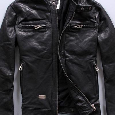 70818d1219a Новая мужская кожаная куртка Diesel 52 р в Астрахани