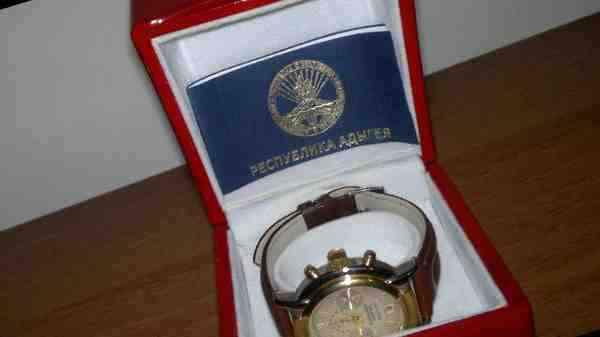 645b1aca1cb2 Золотые часы президента Республики Адыгея, купить в Майкопе, цена ...