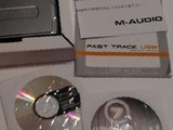 M-Audio Fast Track USB Recording Interface Guitar