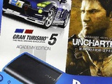 PlayStation 3 SuperSlim 500Gb (GT5 + Uncharted 3)