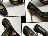 Туфли туфельки кружевные, шпилька размер 37-37. 5 в Уварово