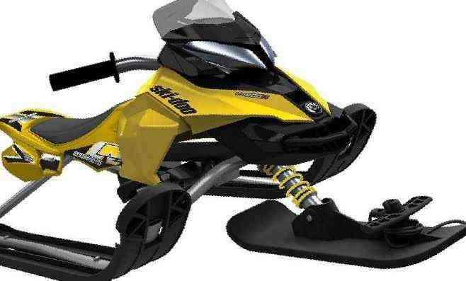 Снегокат snow moto ski